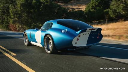 News video: Renovo Unveils Electric Car That Looks Like Iconic Shelby Daytona Coupe